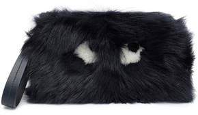 Anya Hindmarch Printed Shearling Clutch