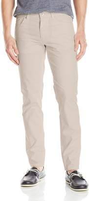 Calvin Klein Men's Slim Fit 5 Pocket Cotton Stretch Dobby Weave Pant