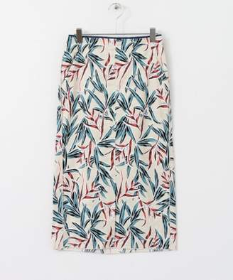 KBF (ケイ ビー エフ) - KBF リゾートプリントタイトスカート