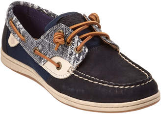 Sperry Women's Songfish Native Leather Boat Shoe