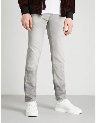 True Religion Rocco skinny mid-rise jeans