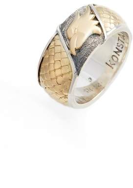 Konstantino Heonos Eagle Ring