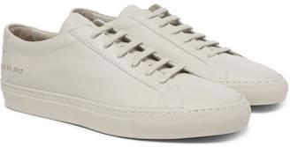 Common Projects Original Achilles Leather Sneakers - Men - Stone