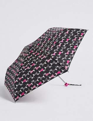 Marks and Spencer Animal Print Compact Umbrella with StormwearTM