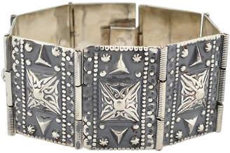 One Kings Lane Vintage Mexican Sterling Silver Bracelet Far Fan