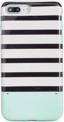 Kate Spade Striped Credit Card iPhone 8 Plus Case