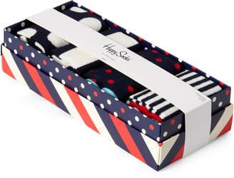 Happy Socks 4-Pack Printed Sock Gift Box