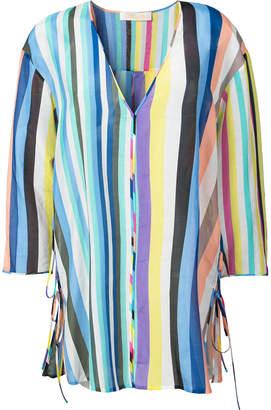 Diane von Furstenberg striped kaftan