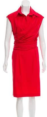 Salvatore Ferragamo Sleeveless Midi Dress