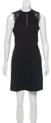 MICHAEL Michael Kors Lace-Trimmed Mini Dress