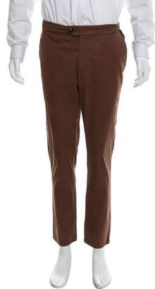 Brunello Cucinelli Flat Front Chino Pants