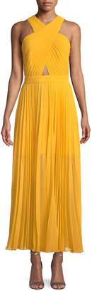 Joie Elenita Pleated Cocktail Dress