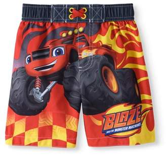 Trunks BLAZE AND THE MONSTER MACHINES Toddler Boy Swim Trunk Board Shorts