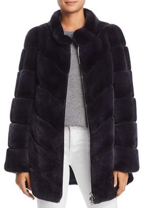 Maximilian Furs Rabbit Fur Coat- 100% Exclusive