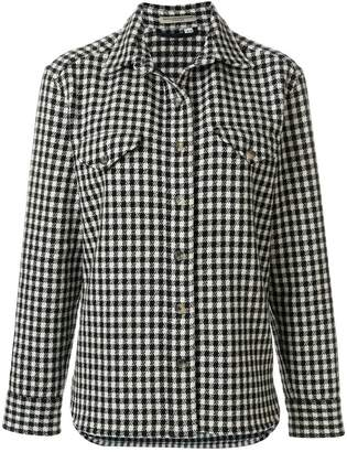 Holland & Holland checked canvas jacket