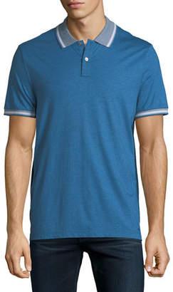 Michael Kors Cotton/Silk Polo Shirt