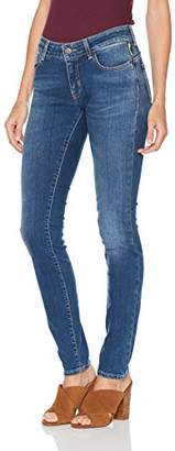 Meltin Pot Meltin' Pot Women's Monie Skinny Jeans, (Denim Blue BF17)