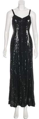 Ralph Lauren Embellished Evening Dress