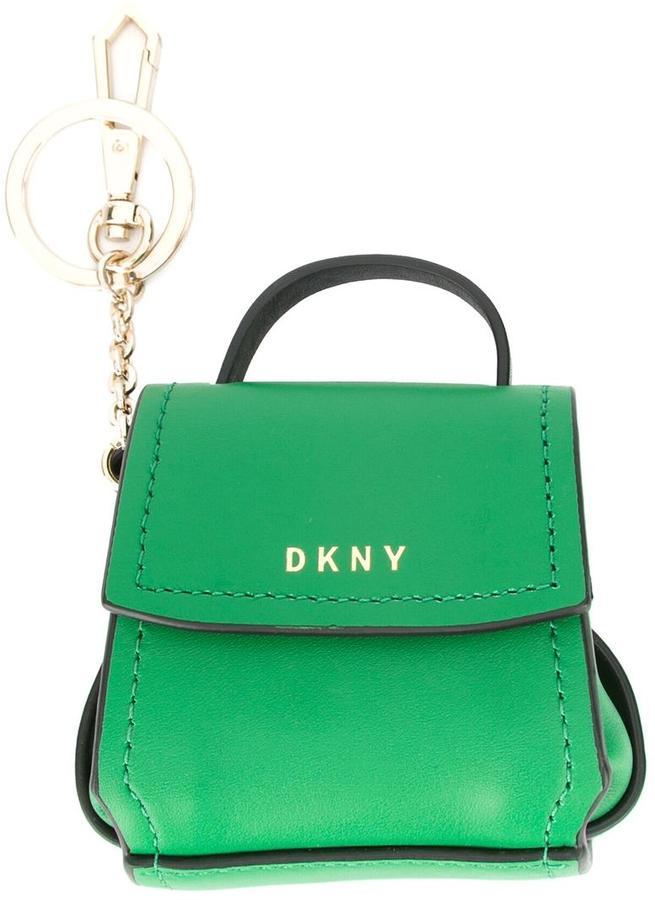 DKNYDKNY mini flap shoulder bag charm