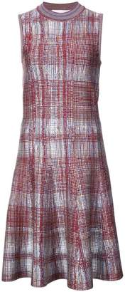 Victoria Beckham printed knit sleeveless dress