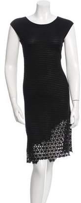 Chanel Crocheted Hem Knit Dress