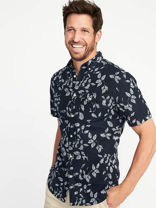 Old Navy Slim-Fit Linen-Blend Shirt for Men