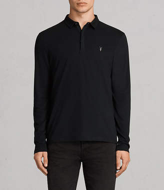 AllSaints Brace Long Sleeved Polo Shirt