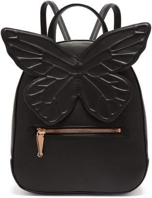 Sophia Webster Kiko butterfly-appliqué leather backpack