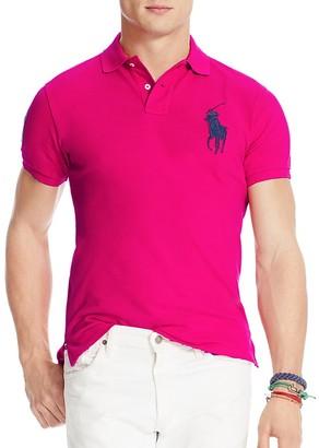 Polo Ralph Lauren Big Pony Trim Fit Mesh Polo $98.50 thestylecure.com