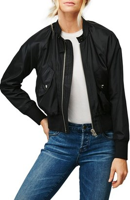 Women's Free People Midnight Bomber Jacket $78 thestylecure.com