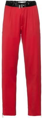 Marques Almeida Marques'almeida zipped sides virgin wool track pants
