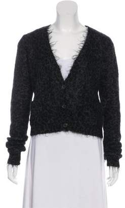 A.L.C. Cropped Knit Cardigan