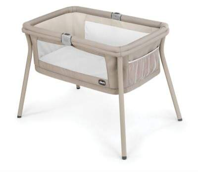 Chicco LullaGo Portable Bassinet in Beige