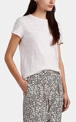 ATM Anthony Thomas Melillo Women's Schoolboy Slub Cotton T-Shirt - Light, Pastel pink