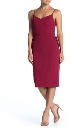 1 STATE 1.State Side Tie Slip Dress