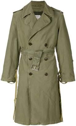 424 Fairfax X Alpha Military trenchcoat