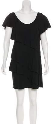 Sonia Rykiel Ruffle-Tiered Mini Dress