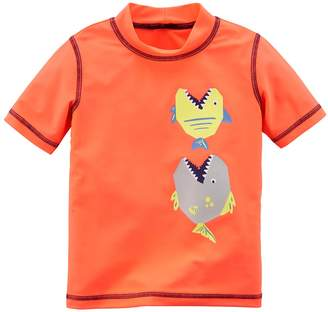 Carter's Boys 4-8 Printed Rash Guard