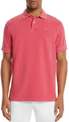 Barbour Washed Piqué Sport Regular Fit Polo Shirt