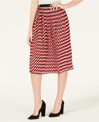 Ultra Flirt By Ikeddi Juniors' Pleated Midi Skirt