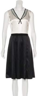 Marc Jacobs Colorblock Silk Dress w/ Tags