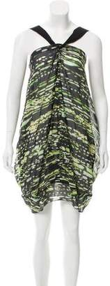 Zero Maria Cornejo Sleeveless Printed Dress