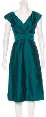 Max Mara Short Sleeve Midi Dress