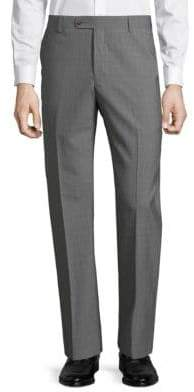 Saks Fifth Avenue Textured Wool Dress Pants