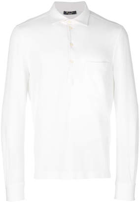 Loro Piana classic fitted polo-top