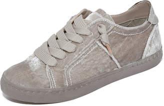 Dolce Vita Zalen Velvet Sneakers $100 thestylecure.com