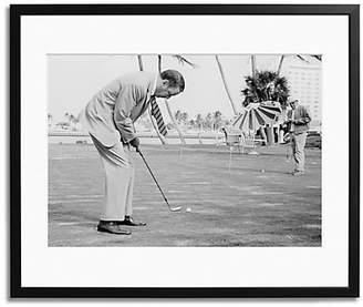 Sonic Editions Frank Sinatra Golfing Print