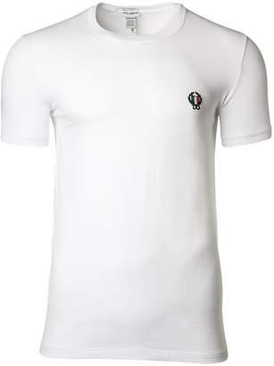 Dolce & Gabbana Sport Crest Men's Crew-Neck T-Shirt
