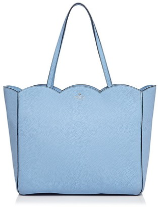 kate spade new york Leewood Place Rainn Leather Tote $328 thestylecure.com