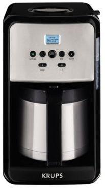 Krups KRUPS® Savoy 12-Cup Programmable Coffee Maker in Black/Stainless Steel